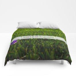 Avoiding tall grass Comforters
