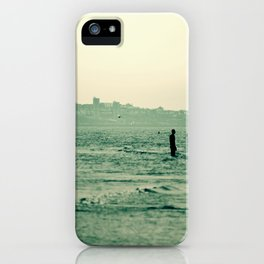 Out in the Ocean iPhone Case