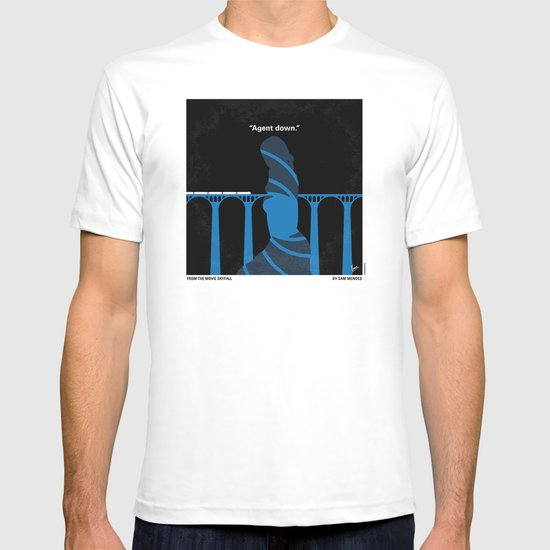 No277-007-2 My Skyfall minimal movie poster T-shirt