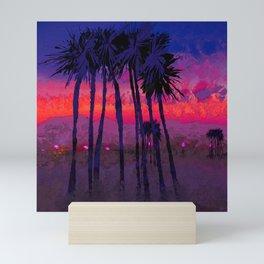 Nevada Sunset Mini Art Print