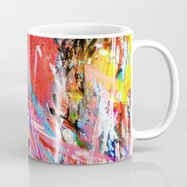 black and yellow Coffee Mug