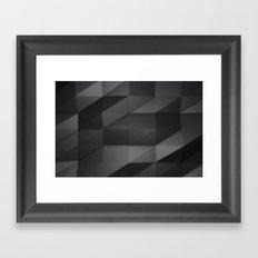 Faceted Framed Art Print