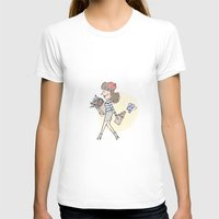 bonjour T-shirts featuring bonjour by Mandie Kuo