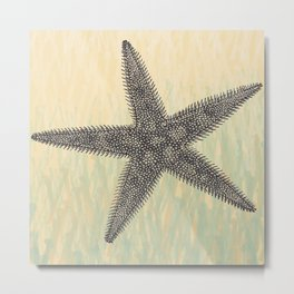 Starfish ~ The Summer Series Metal Print