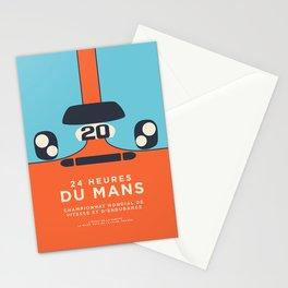 Le Mans Minimal Retro B Stationery Cards