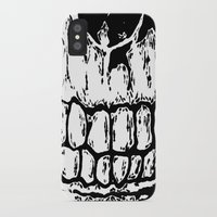 teeth iPhone & iPod Cases featuring Teeth by Mike Hague Prints