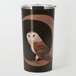 Barn Owl Magic Travel Mug