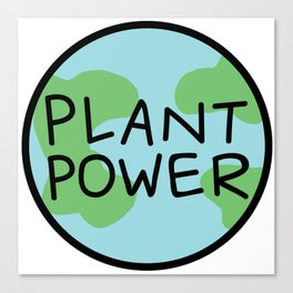 Plant Power Canvas Print