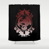 thundercats Shower Curtains featuring Battle For Third Earth by Vitalitee