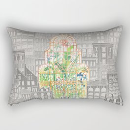 Eva City Glasshouse Rectangular Pillow