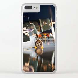 Corsair at Night Clear iPhone Case