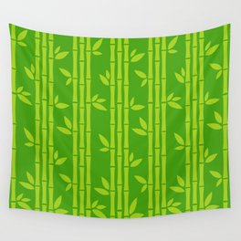 Evergreen Chinese Bamboos Wall Tapestry