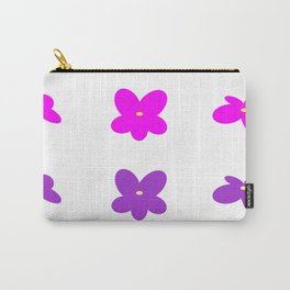 Lavender flowers Carry-All Pouch