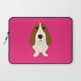 Basset Hound Laptop Sleeve