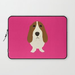 Basset Hound Laptop Sleeve