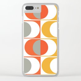 Eyes Of The 70's Clear iPhone Case
