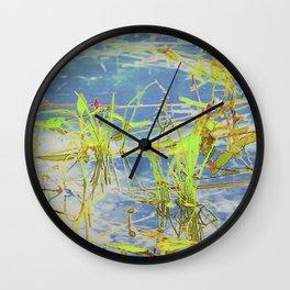 Rushes Wall Clock