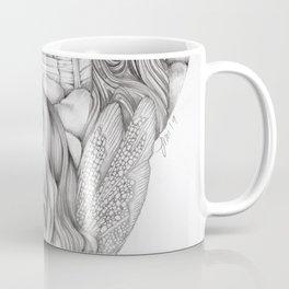 JennyMannoArt GRAPHITE DRAWING/FAIRIE Coffee Mug