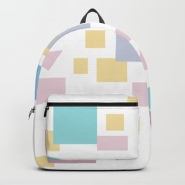 Bauhaus geometric modern shapes Backpack