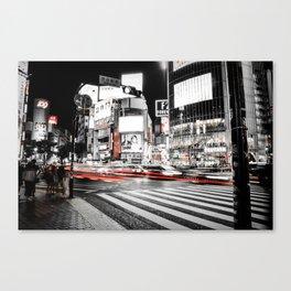 Shibuya Madness Canvas Print