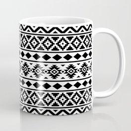 Aztec Essence Ptn III Black on White Coffee Mug