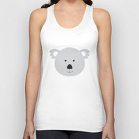 koala Tank Tops featuring Koala by Ilona