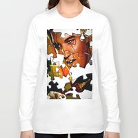gentleman Long Sleeve T-shirts featuring Gentleman by Rick Staggs