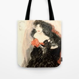 "Gustav Klimt ""Study for Judith II"" Tote Bag"