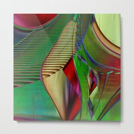 Multicolored abstract 2016 / 009 Metal Print
