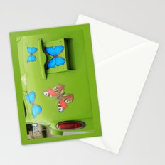 Butterfly#car Stationery Cards