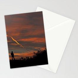 Pensive Sunrise Stationery Cards