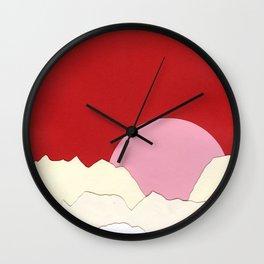 Sunset Styria Wall Clock