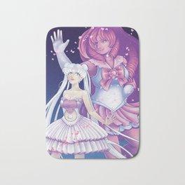 SM/SU: Silver Crystal and Sailor Rose Bath Mat