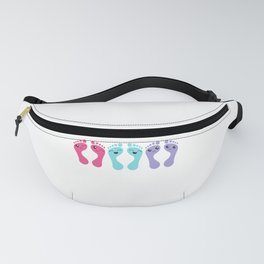 Foot Care Chiropody Podiatry Funny Feet Gift Fanny Pack