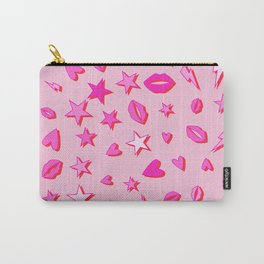 Eighties All Pop Pattern Carry-All Pouch
