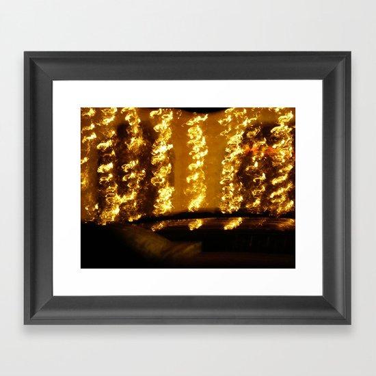 My Golden Tears Framed Art Print