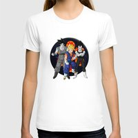 dbz T-shirts featuring DBZ - Mighty Fusion by Mr. Stonebanks