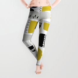 Flowers and Pots Leggings