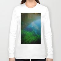 underwater Long Sleeve T-shirts featuring underwater by habish