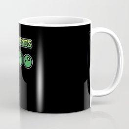 My Friends Green Beans Soybean Cartoony Anime Gift Coffee Mug