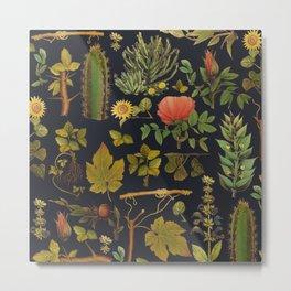 natural plants together Metal Print