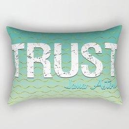 Trust by Jana Aston Rectangular Pillow