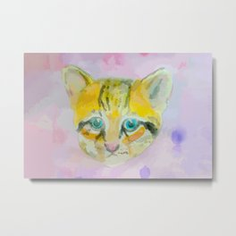 A lot of Ocelot exotic cat Metal Print
