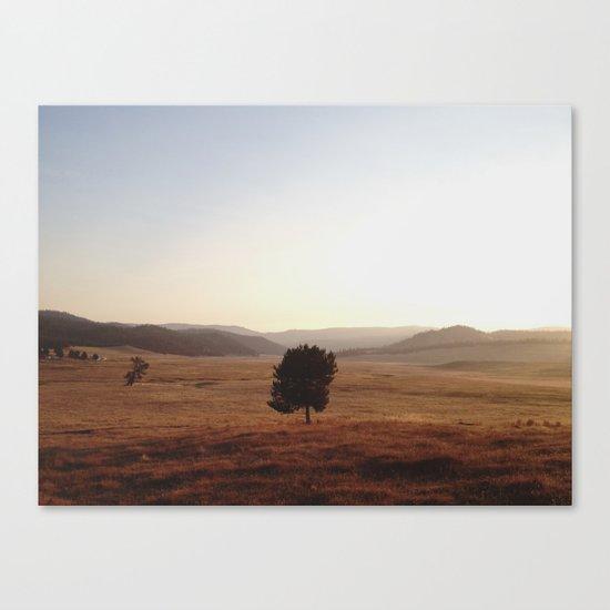 La Grande Morning Canvas Print