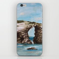 Playa de las catedrales iPhone & iPod Skin