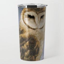 Wise Old Owl - Image Art Travel Mug
