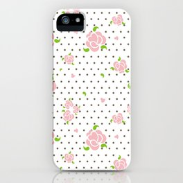 """""""Roses & Dots"""" iPhone Case"""