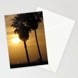 California Beach Sunset Stationery Cards
