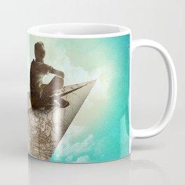 Paper Aeroplane Coffee Mug