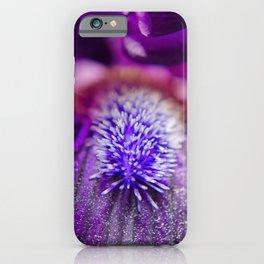 Eye of Iris Nature / Floral / Botanical Photograph iPhone Case